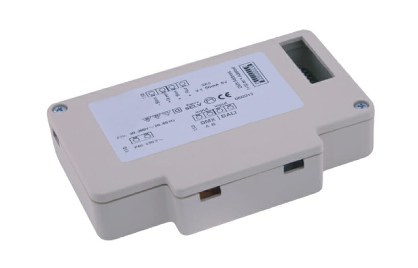 3w rgb led light source with dmx or dali control cobb produzione