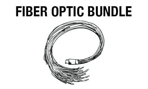 Fiber optic bundle