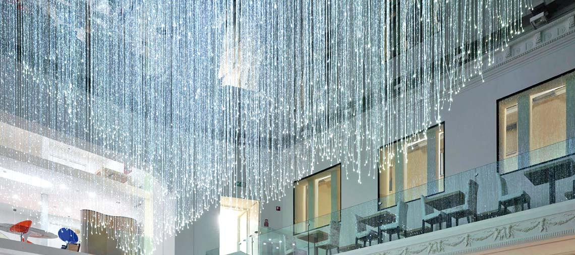 Cobb fibre ottiche i nostri sistemi di illuminazione a for Sistemi di illuminazione