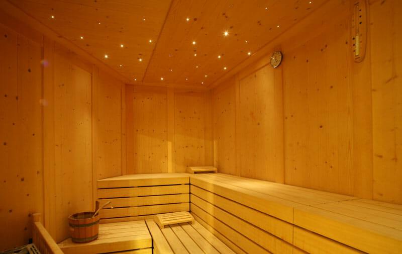 Cieli stellati per saune e centri benessere