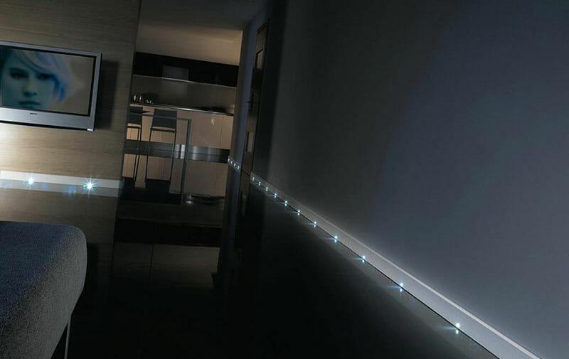 Illuminazione segnapasso a LED