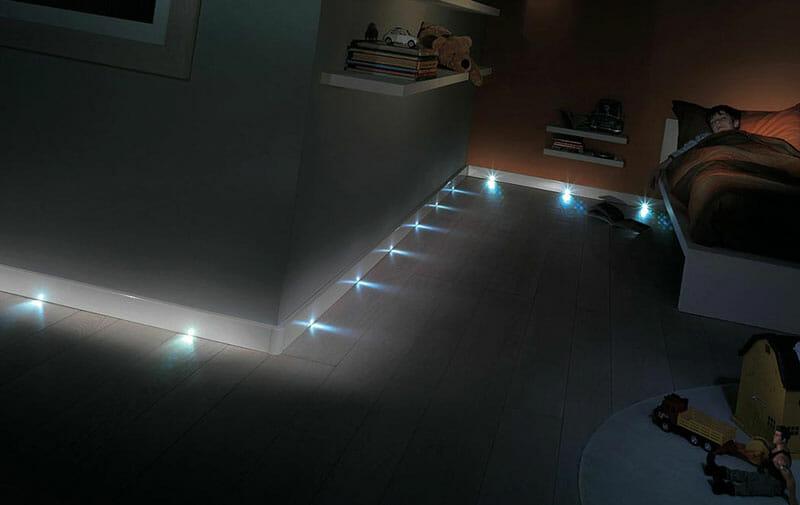 Illuminazione segnapasso a Led per interni