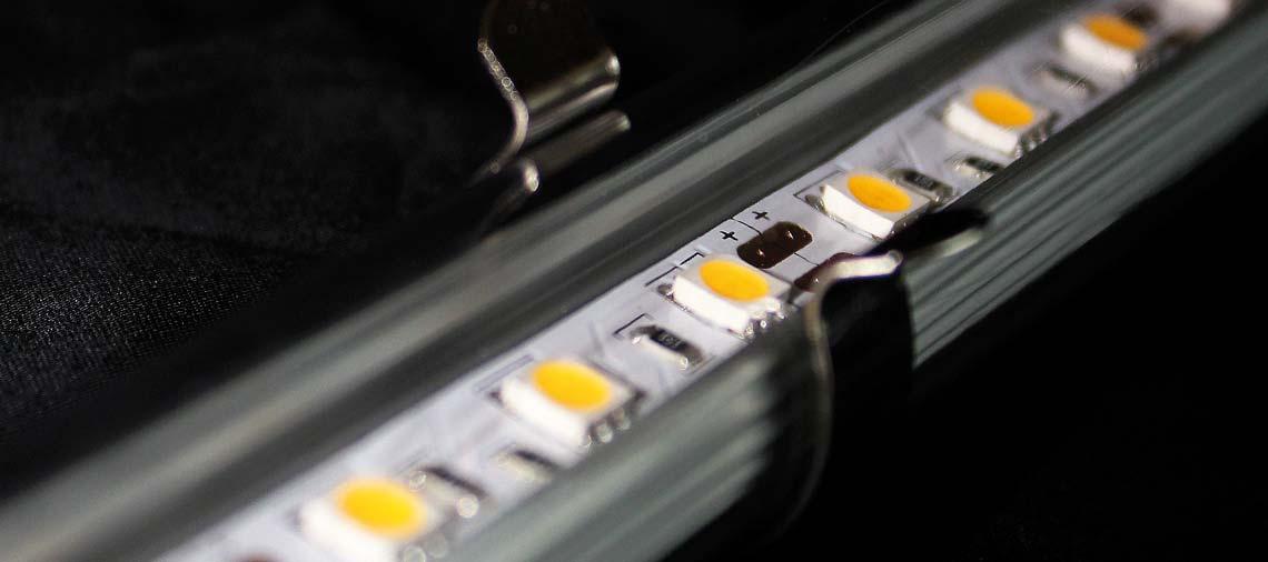 Cobb fibre ottiche i sistemi di illuminazione a led per for Illuminazione a led per interni